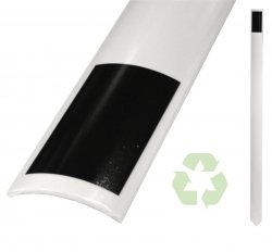 Single Curve Recycled Plastic Delineator